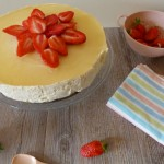 Cheesecake bergamote & fraises