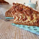 Zebra cake à la pâte à tartiner