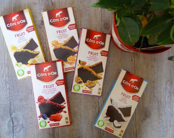 Les nouvelles tablettes de chocolat Côte d'Or aux fruits à gagner