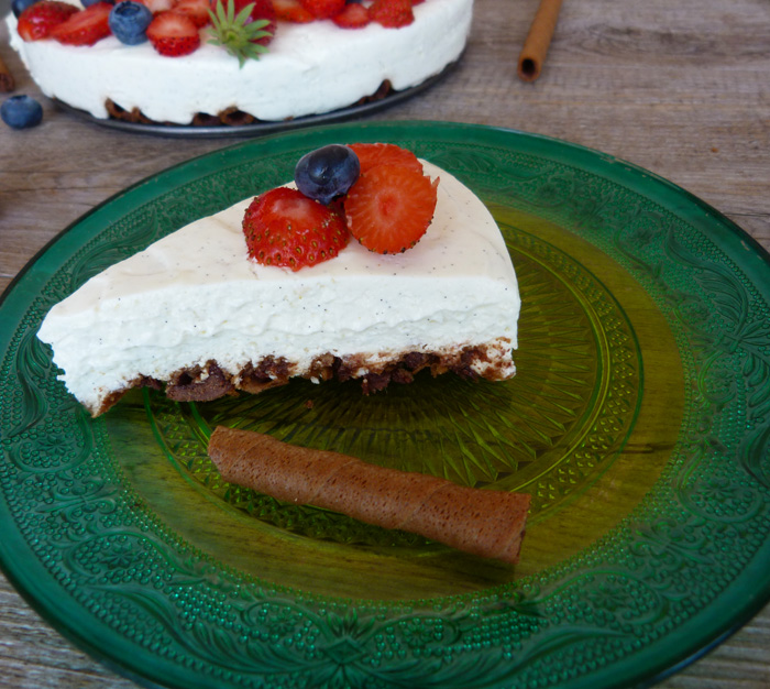 cheesecake aux Caprice