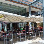 Déjeuner sur l'herbe ou presque : restaurant Cité 33
