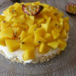 Tarte mangue & fruit de la passion