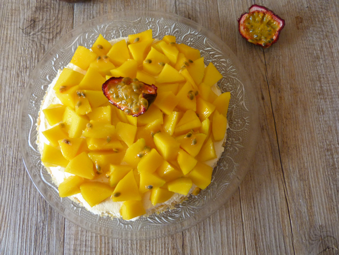 tarte mangue fruit de la passion 2