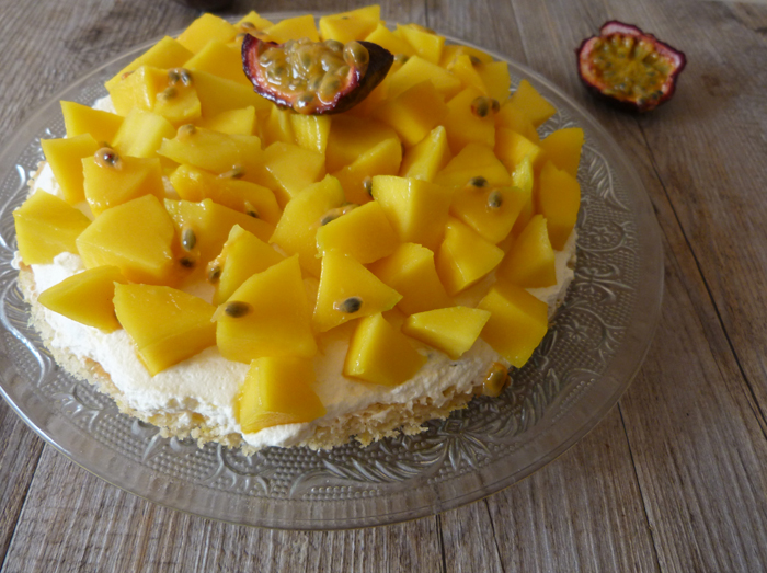 tarte mangue fruit de la passion 3