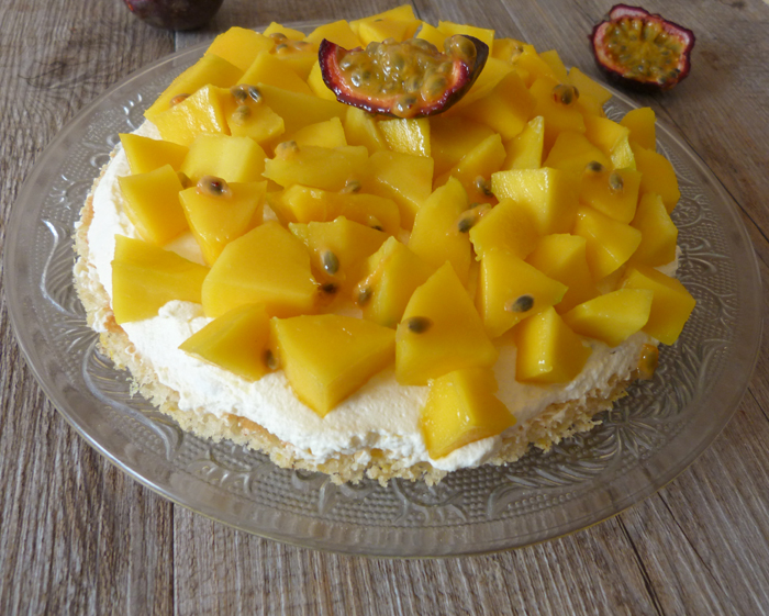 tarte mangue fruit de la passion 4