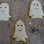 Sablés fantômes pour Halloween