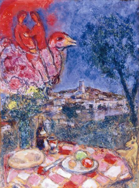 marc-chagall_la-table-devant-le-village