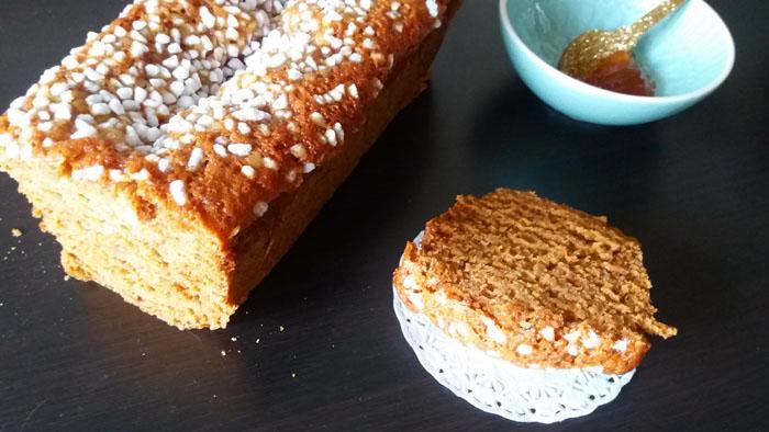 pain d'épices à l'orange