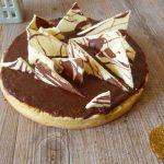 {Noël} : Tarte au chocolat crousti-croquante