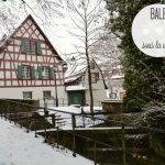 Bâle sous la neige