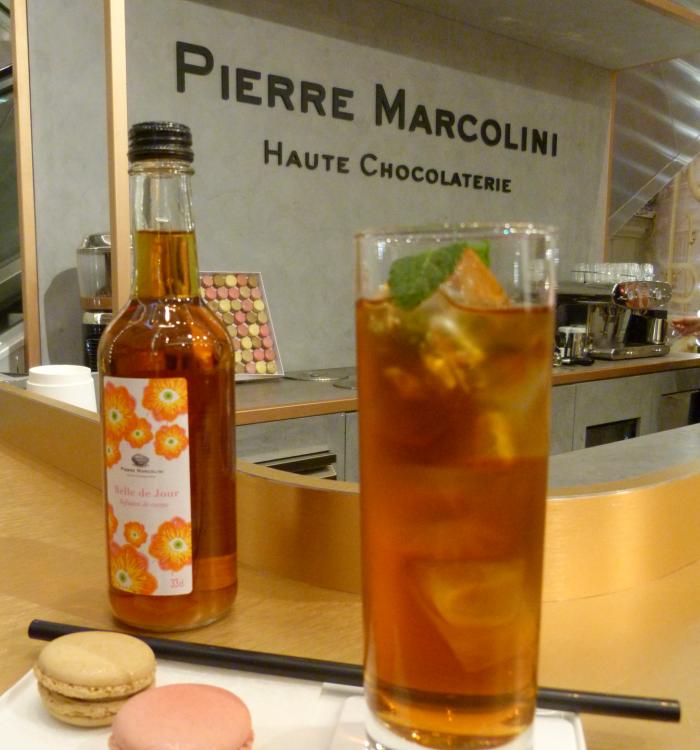 Pause gourmande au bar à chocolat de Pierre Marcolini