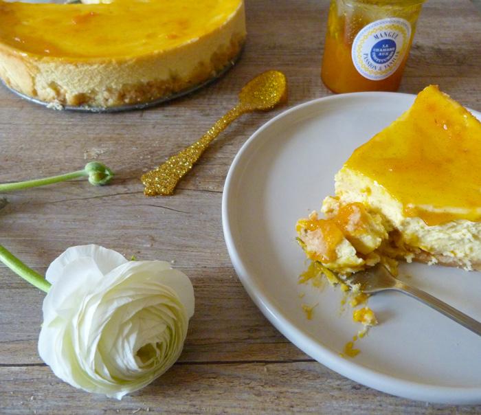 cheesecake mangue passion