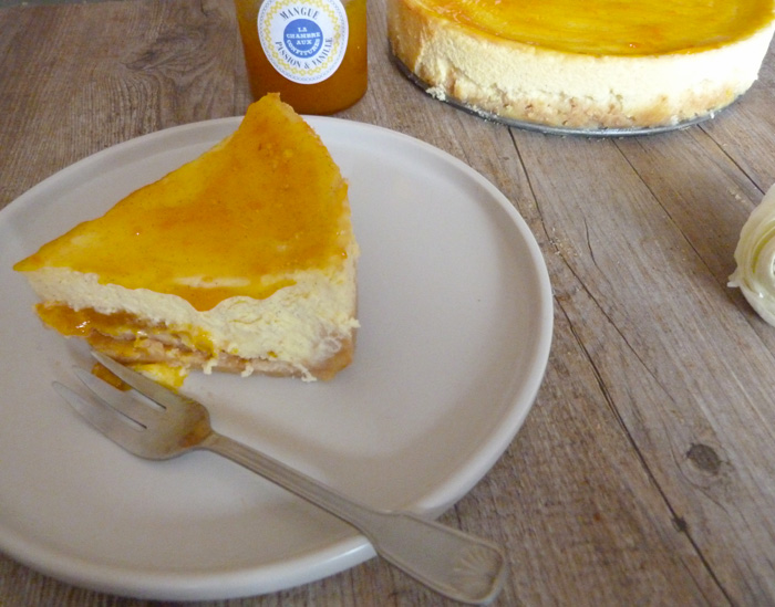 cheesecake mangue passion