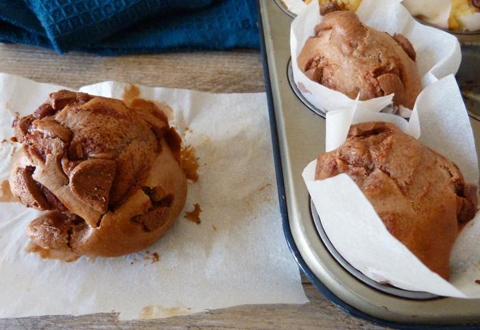 muffins au chocolat et au yaourt grec