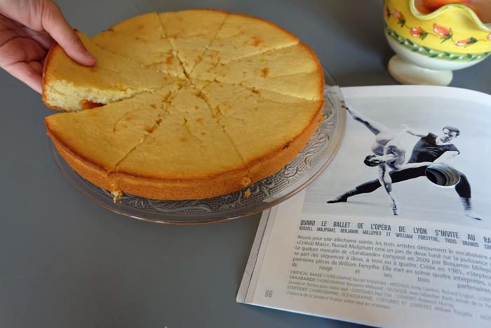 gâteau abricot au lait ribot