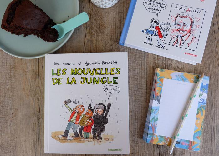 Quand la BD se cogne au réel : la jungle de Calais et les élections présidentielles