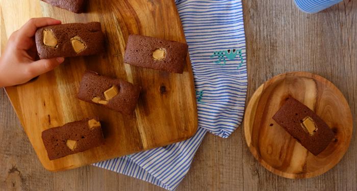 mini cake chocolat blé noir