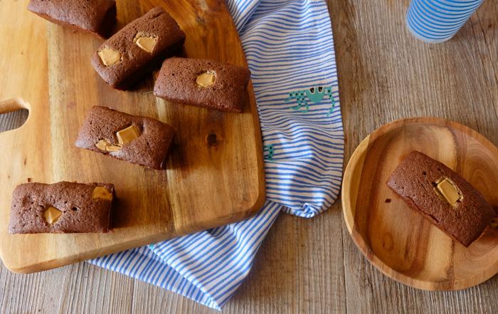 mini cake chocolat au blé noir