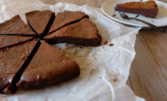 gâteau au chocolat et au sucre muscovado