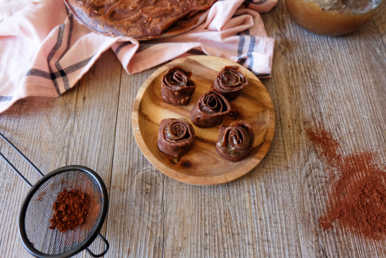 crêpes maki chocolat