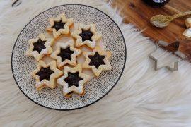 étoiles de Noël à la confiture