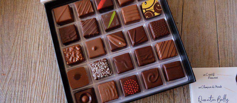 J'ai craqué pour les chocolats de Quentin Bailly à Lille