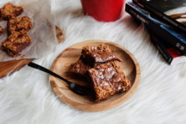 brownie crousti fondant