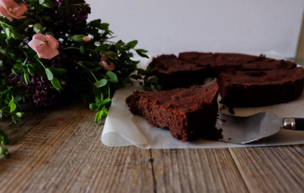 gateau moelleux express au chocolat