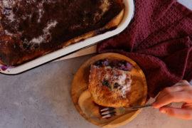 clafoutis breton aux myrtilles
