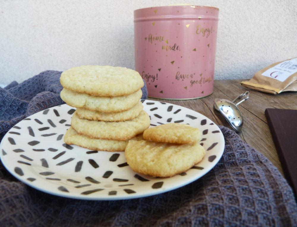 shortbread thins à la vanille