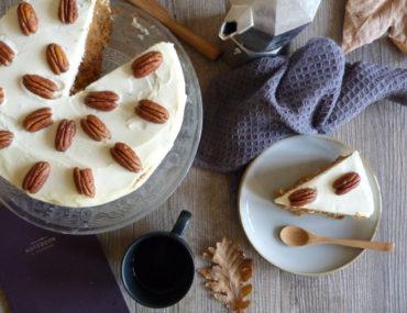 carrot cake de Rose Bakery