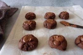 cookies chocolat praline