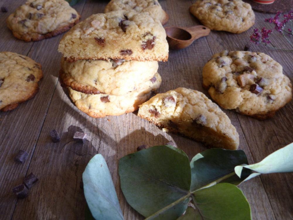 cookies chocolat noir dulcey façon Levain Bakery