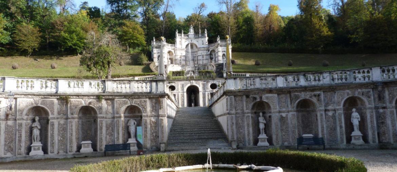 Couleurs d'automne à la Villa della Regina à Turin