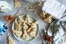 biscuits sapins à la pistache