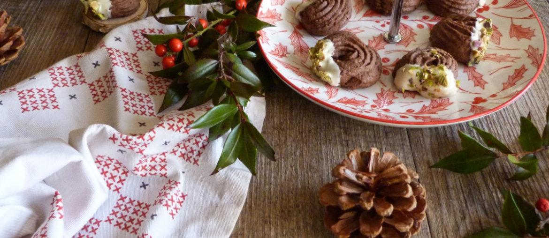 rosaces au cacao