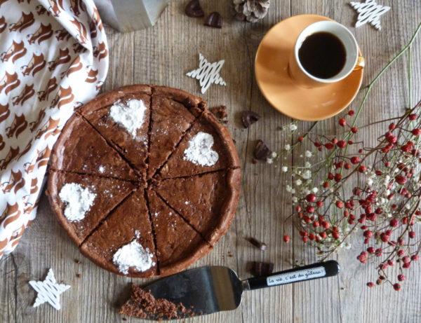 gâteau au chocolat avec 3 ingrédients