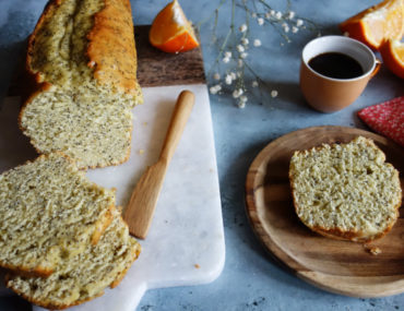 cake moelleux orange pavot