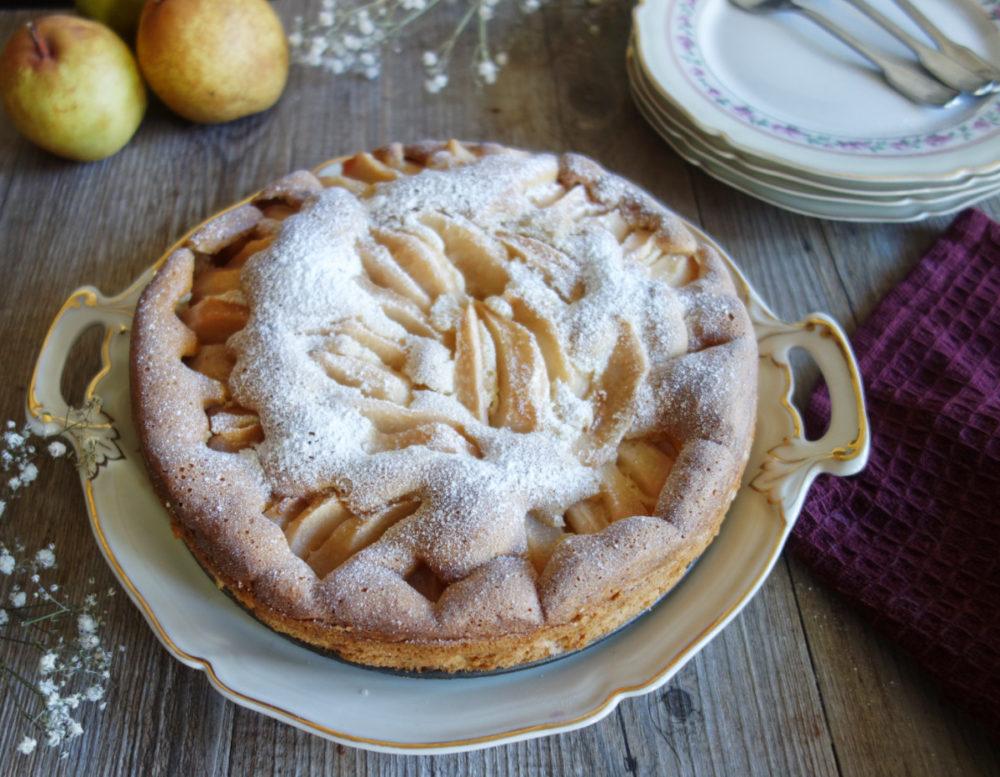 gâteau aux poires et au mascarpone