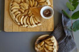 tarte rustique poires marrons