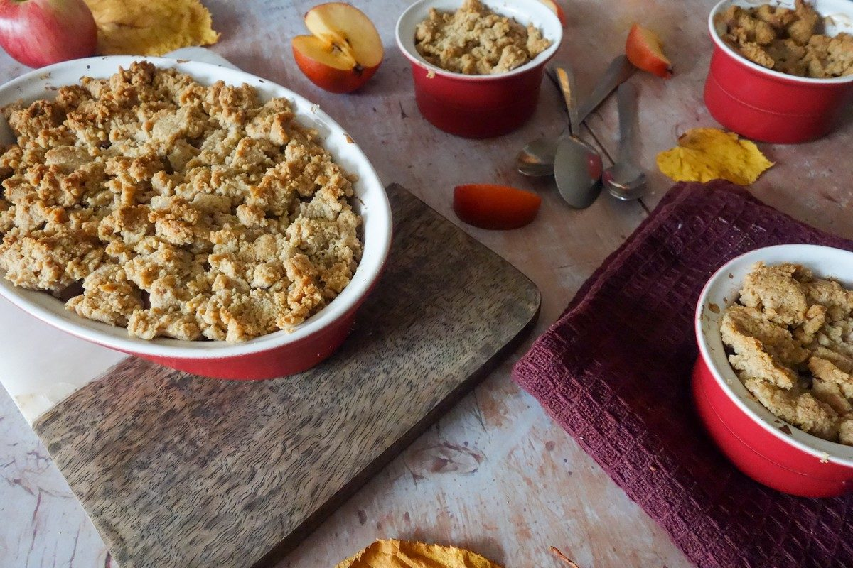 crumble pommes sarrasin