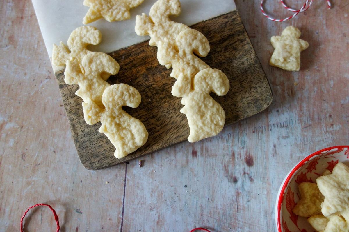 biscuits de Noël à la pâte d'amande