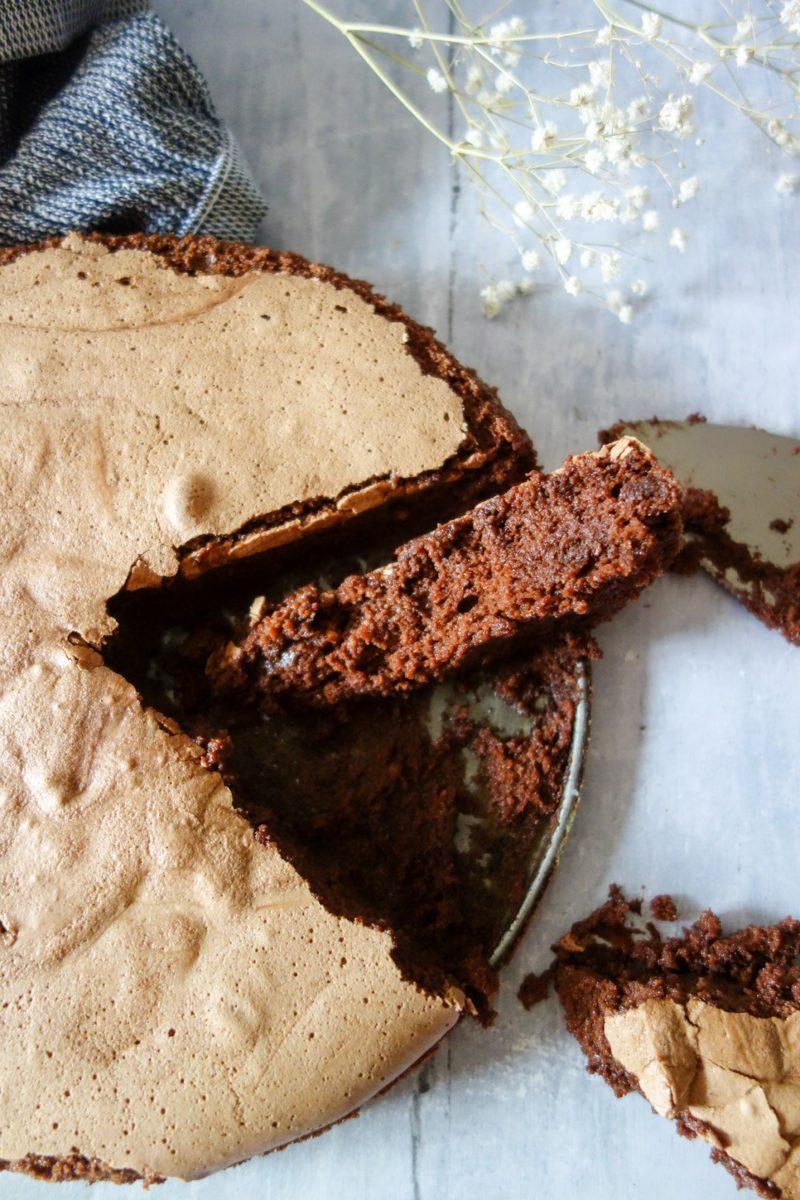 le gâteau au chocolat de Frédéric Bau