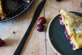 clafoutis cerises pistache