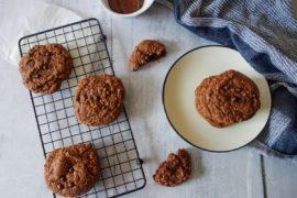 cookies au beurre de cacahuètes au chocolat
