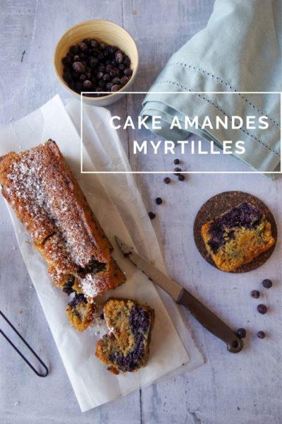 cake amandes myrtilles