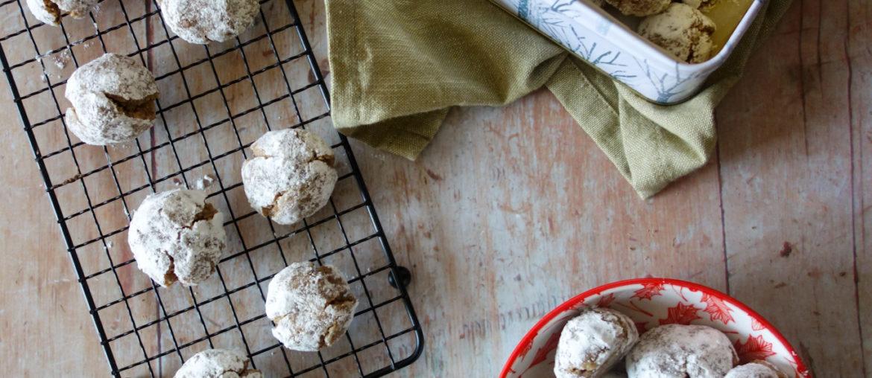 Boules de neige à la noisette (sans gluten)
