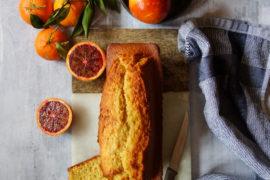 cake à l'orange sanguine et à l'huile d'olive