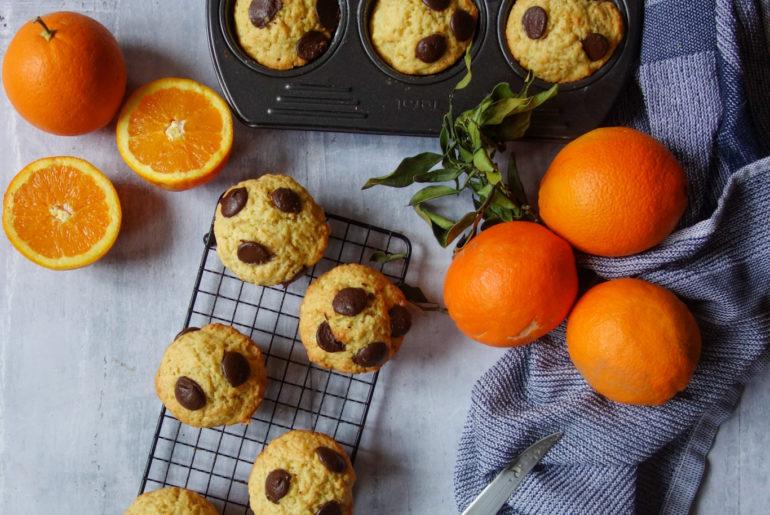 muffins orange au lait fermenté
