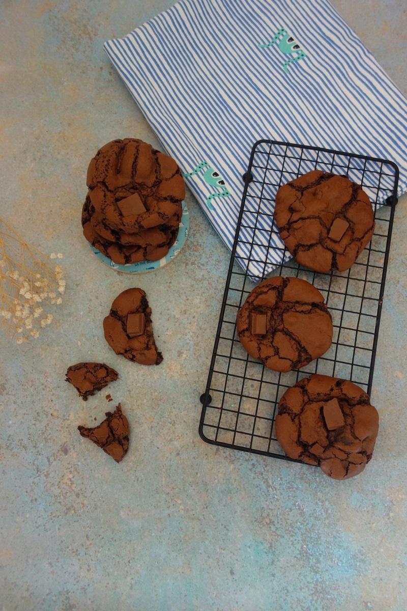 cookies meringués au chocolat